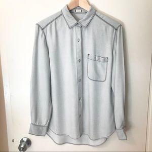 Sunday best button down shirt from Aritzia